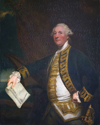 Commodore Sir William James by Joshua Reynolds, 1784