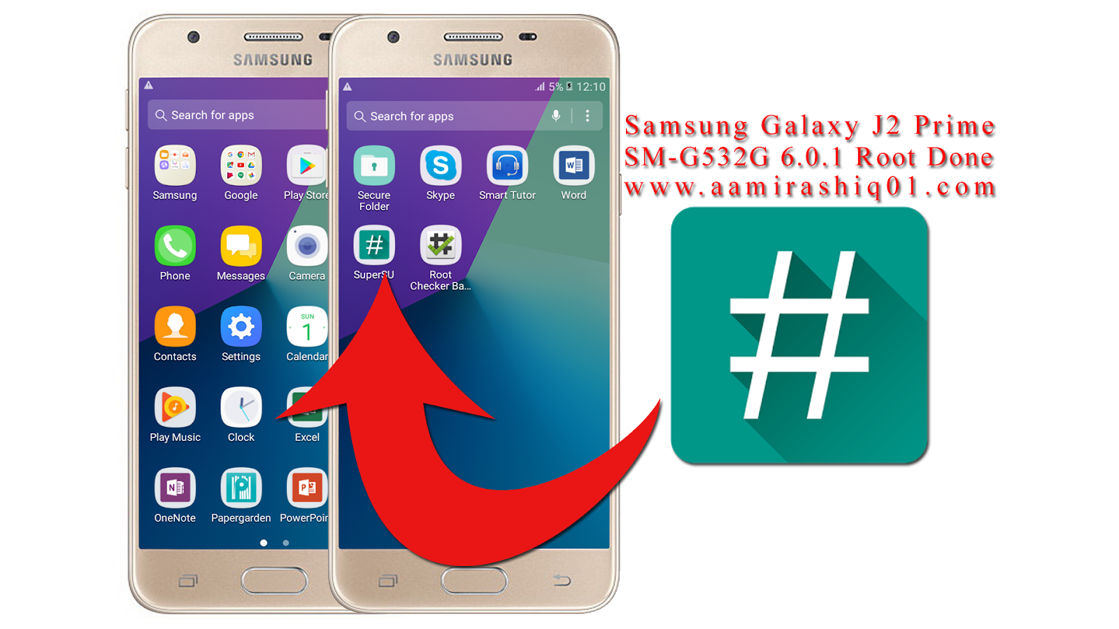 Samsung Galaxy J2 Prime SM-G532G Root File Download