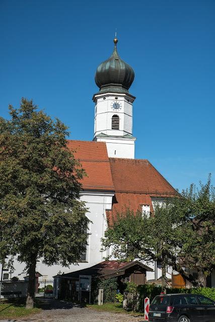 Rundweg Ohlstadt - Kreut-Alm  Freilichtmuseum Glentleiten Schwaiganger  Wandern im Blauen Land 17