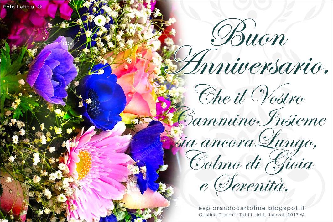 Auguri Di Anniversario Di Matrimonio Per Amici.Cdb Cartoline Per Tutti I Gusti Cartolina Buon Anniversario