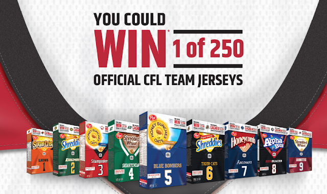 Win 1 of 250 Official CFL Jerseys