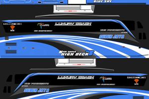7 Livery Bus Simulator Indonesia PO Subur Jaya SHD JB3 2019