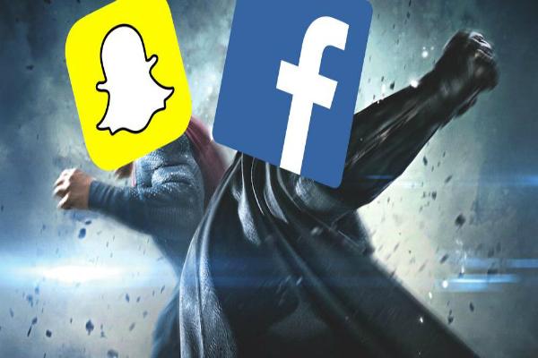 سناب شات تسخر من فيسبوك بطريقة مبتكرة بعد فضيحة كامبريدج أناليتيكا