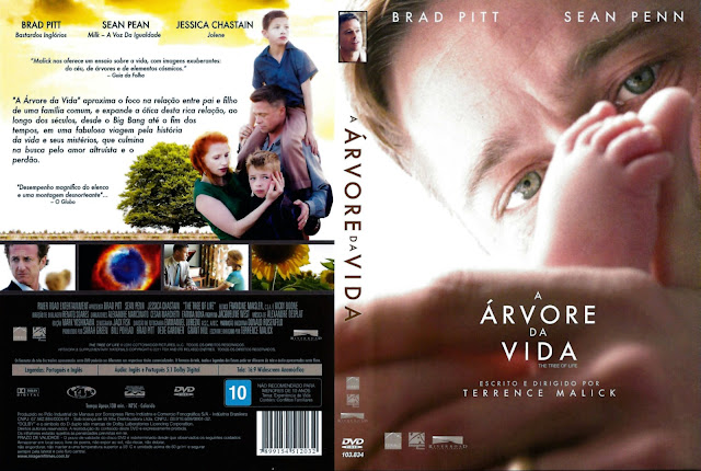 Capa DVD A Árvore da Vida