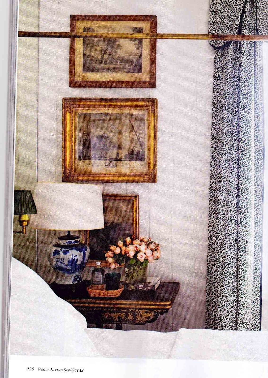 Bedroom Living Prayer Room And Study Room: A Library Of Design: Vogue Living. Just Beautiful