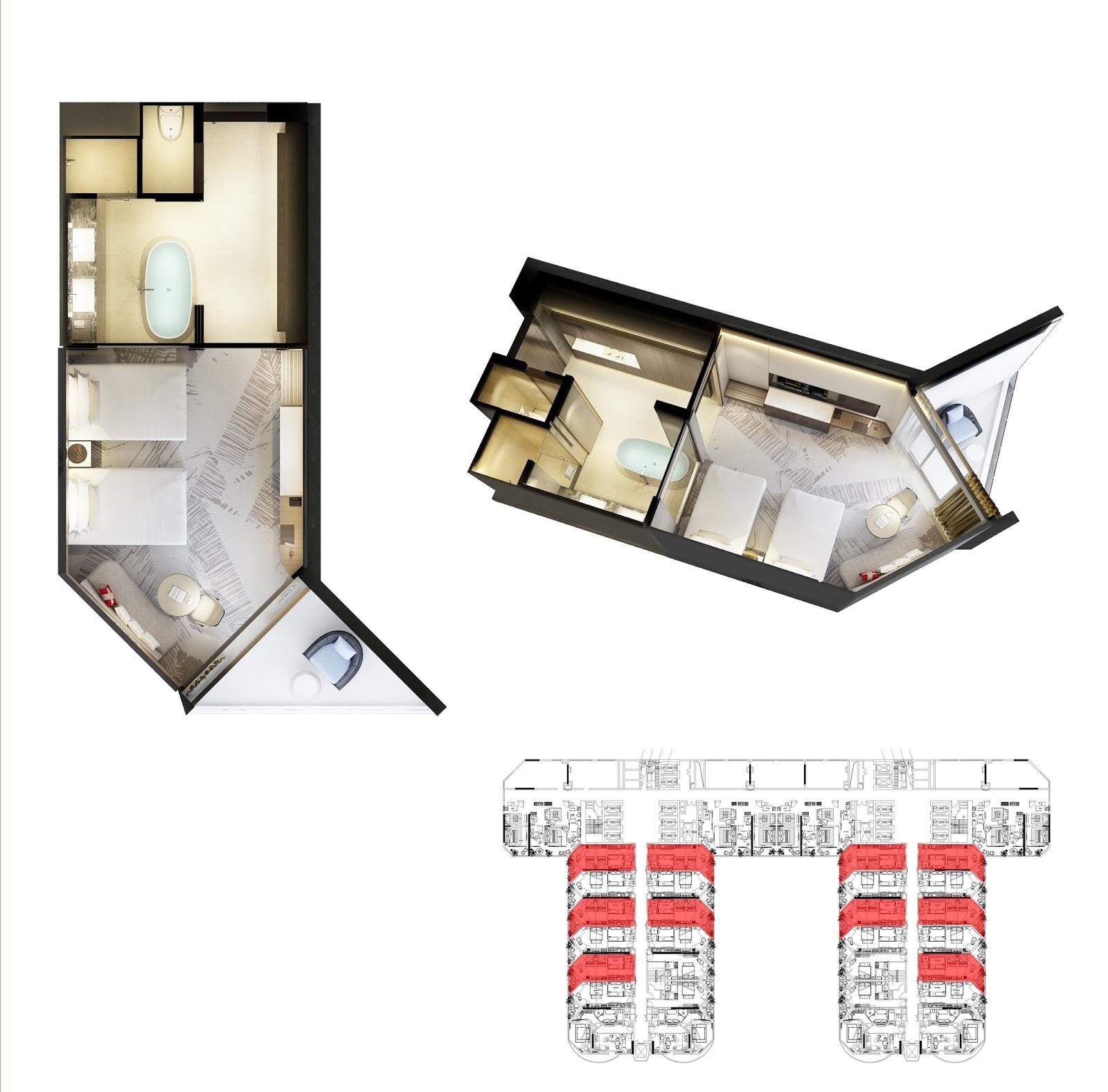 Thiết kế căn hộ số 7 Swisstouches La Luna Nha Trang