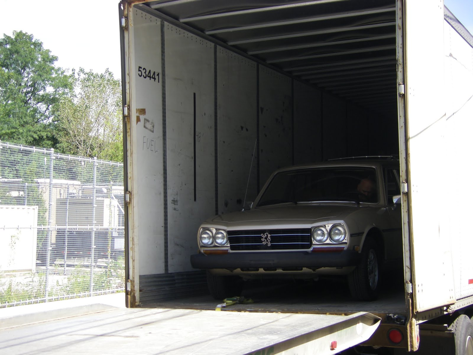 Just A Car Geek 1981 Peugeot 504 Diesel Wagon On Its Way To Montreal