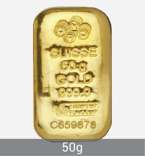 50g Gold Bar