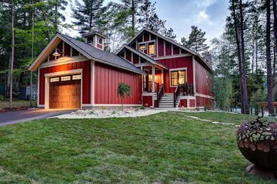 แบบบ้านสีแดง