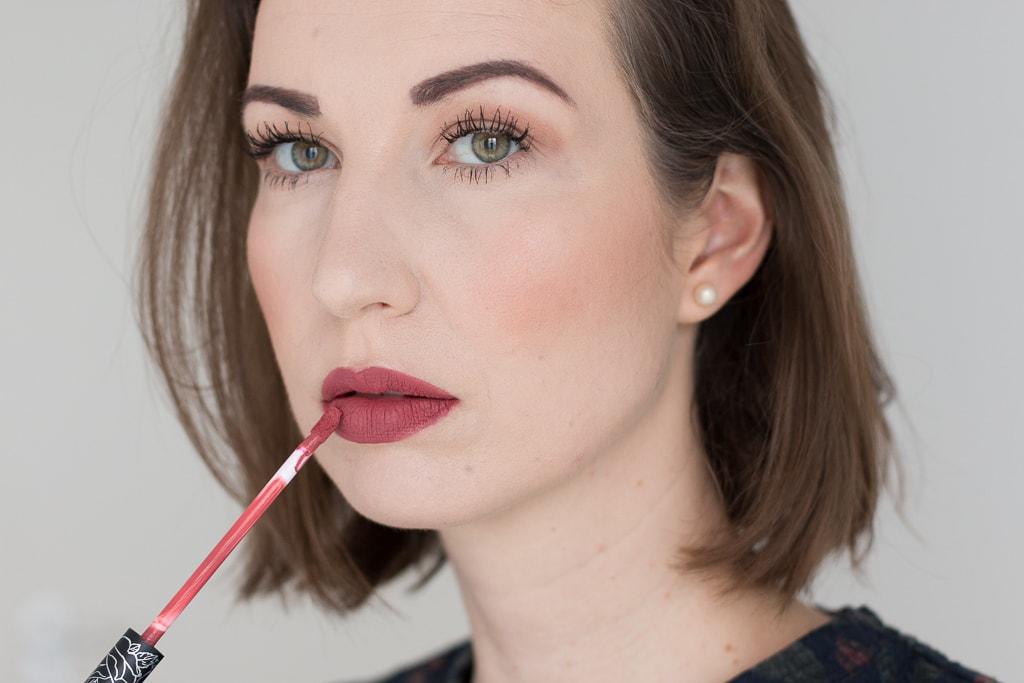 Blogparade Top 3 Herbst Lippenstifte KatVonD Double Dare
