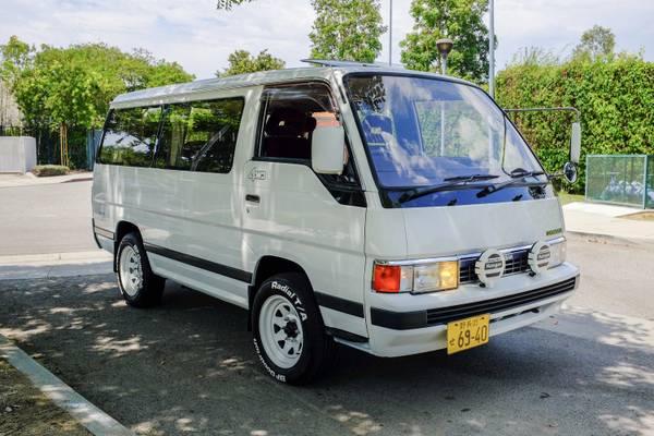 1990 Nissan Caravan Diesel 4x4