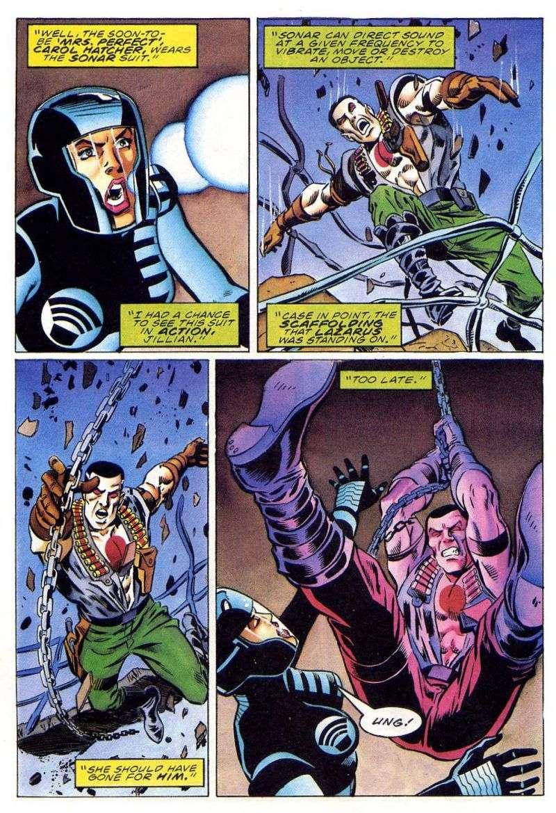 Read online Secret Weapons comic -  Issue #11 - 19
