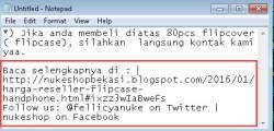Untuk melindungi artikel anda dari copy paste disini ada dua cara :