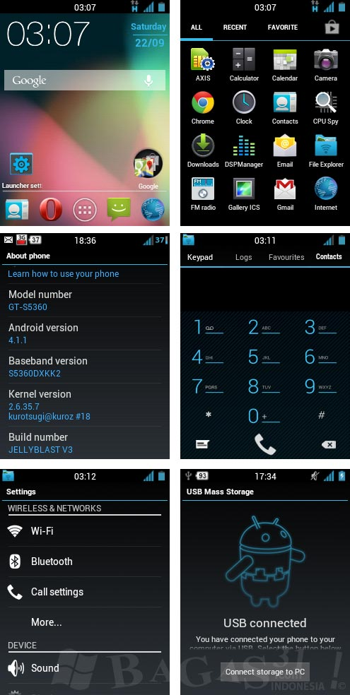 Jelly Blast V3 for Galaxy Young (Custom ROM) + Update 2