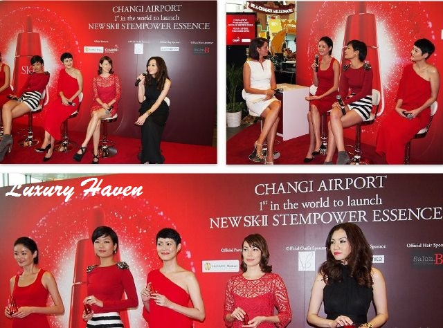 changi airport social tree sk-ii top supermodels