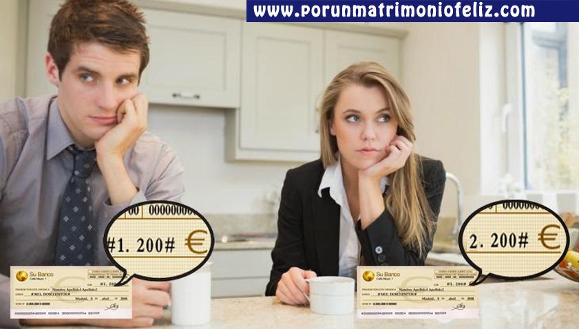 Finanzas Matrimonio Biblia : Matrimonio y finanzas diferencia de ingresos por un