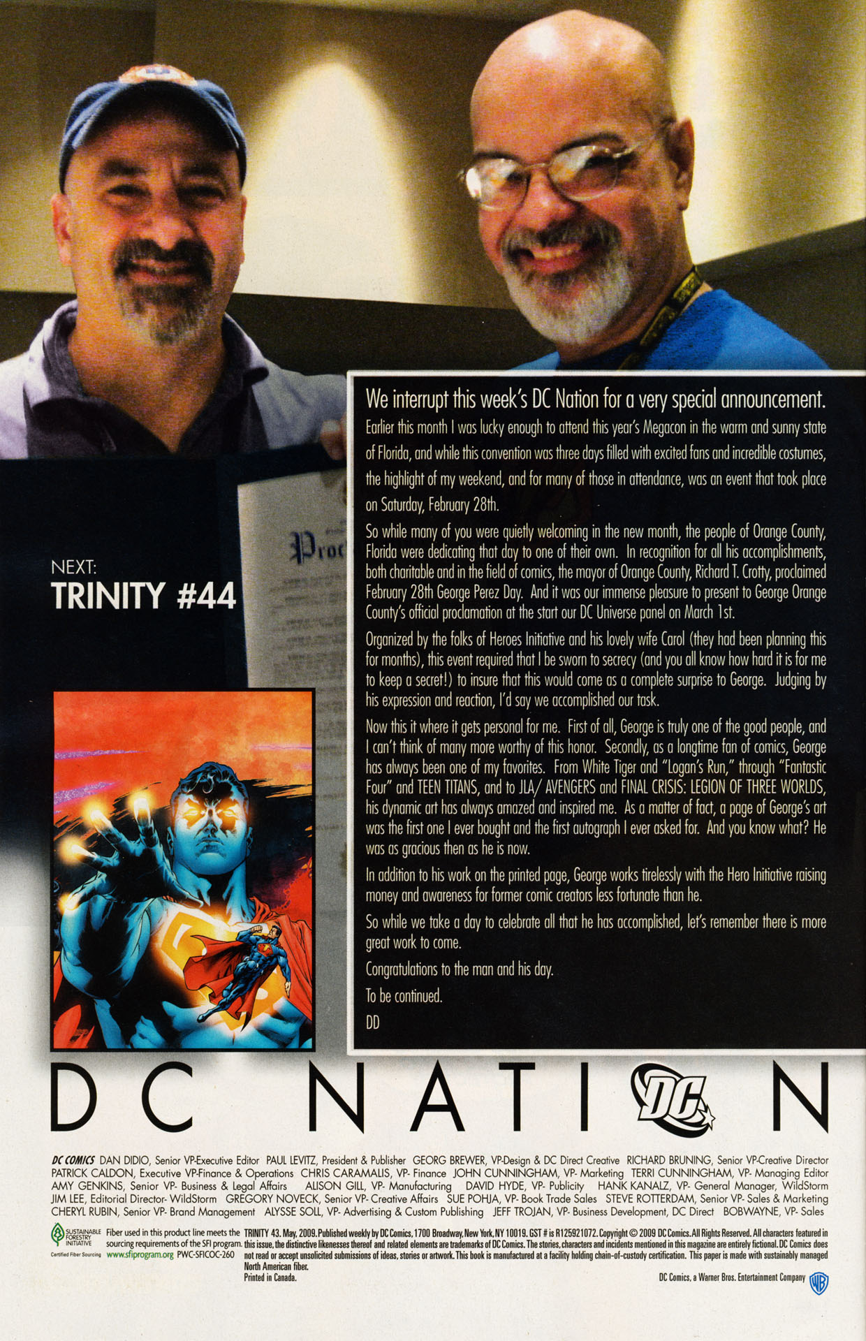 Read online Trinity (2008) comic -  Issue #43 - 30