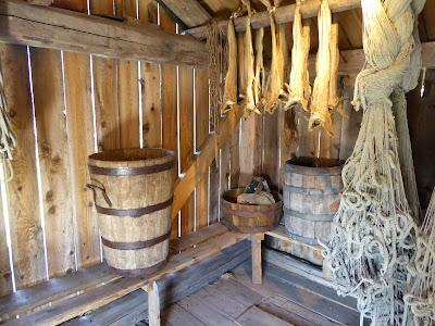 Lofotmuseet : Maison de pêcheur : intérieur Iles Lofoten