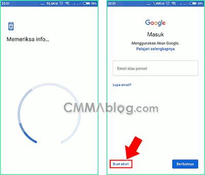 cara membuat akun google baru di hp android