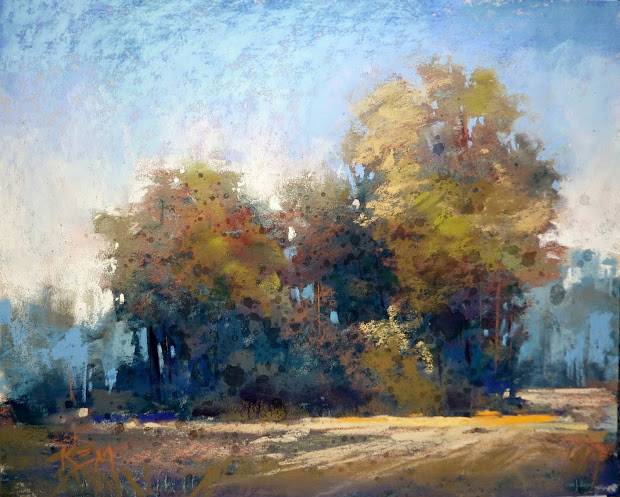 Painting World Simplifying Trees