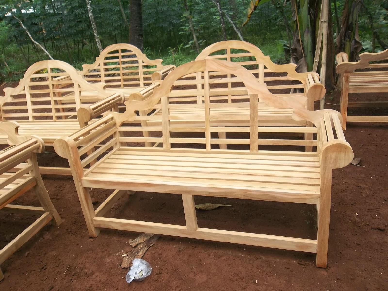 Garden furniture jepara