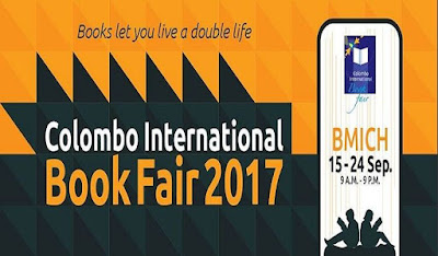 Colombo International Book Fair Exhibition BMICH September 15-24 Sri Lanka