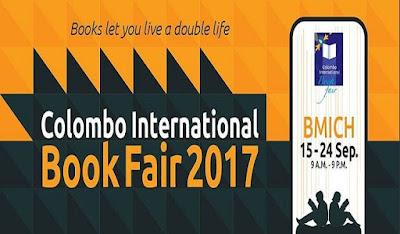 Colombo International Book Fair Exhibition BMICH September 15-24 Sri Lanka