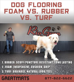 Greatmats dog area flooring rubber foam artificial turf