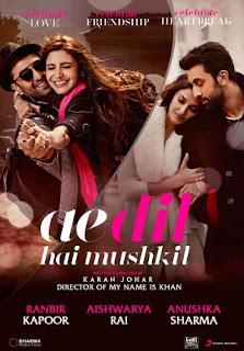 Download Film Ae Dil Hai Mushkil 2016 Bluray Subtitle Indonesia
