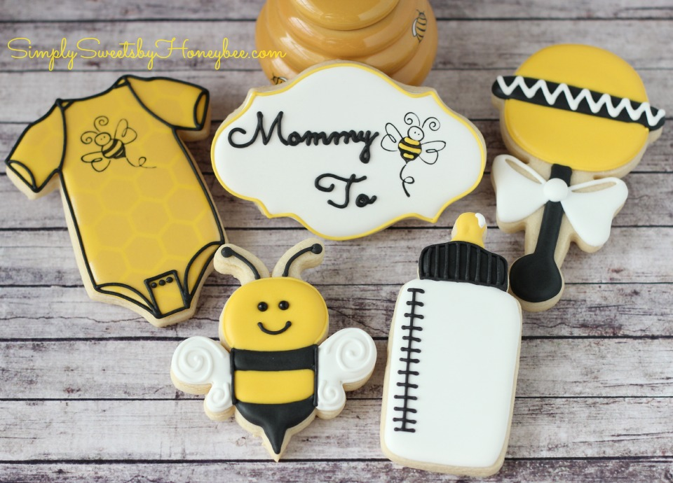 Mommy To Bee Cookies