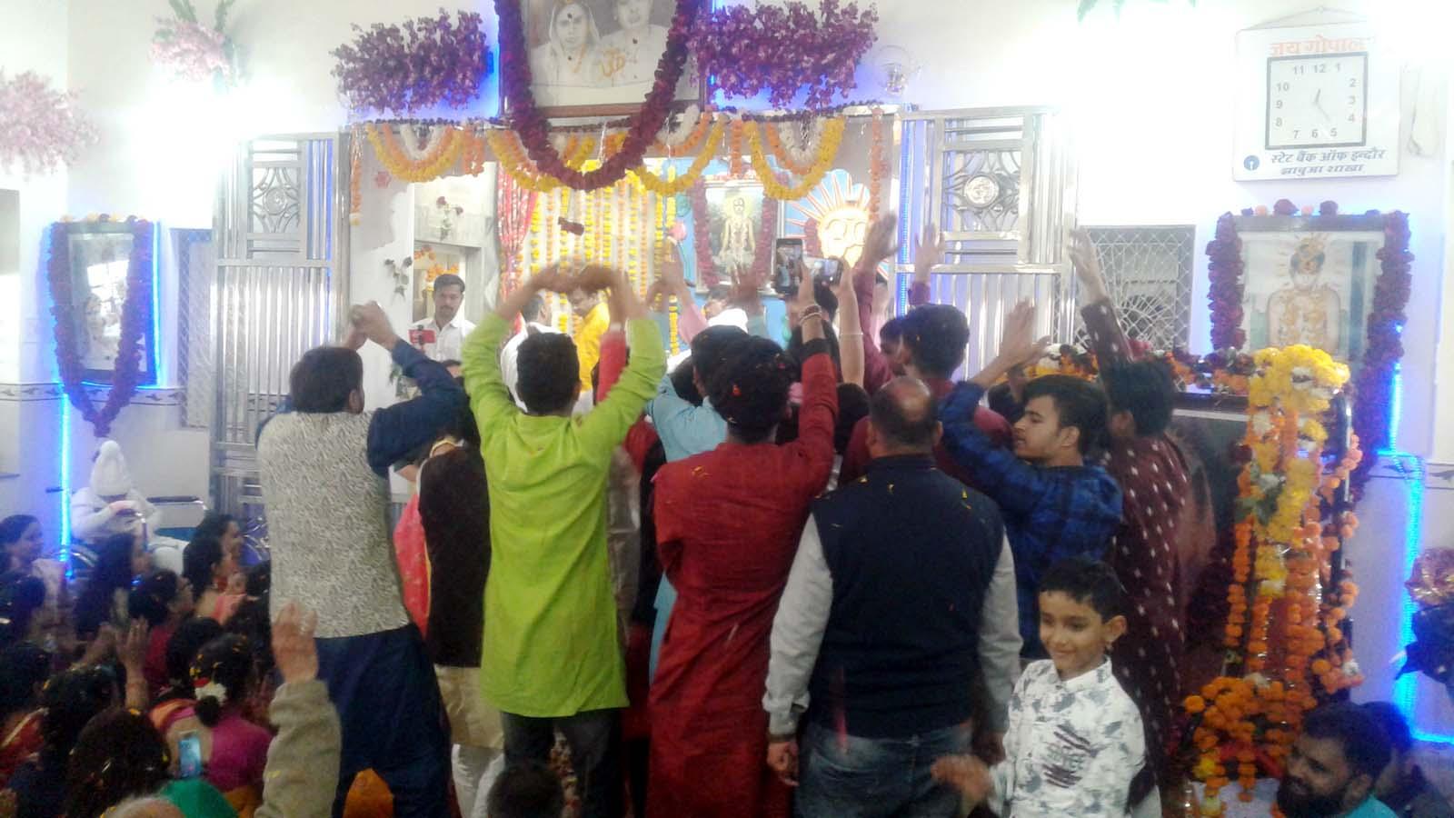 गोपाल प्रभु जन्म शताब्दी महोत्सव में उमड़ा भक्तो का सैलाब, शोभा यात्रा में झूमे भक्तजन