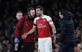 arsenal injury news sokratis koscielny