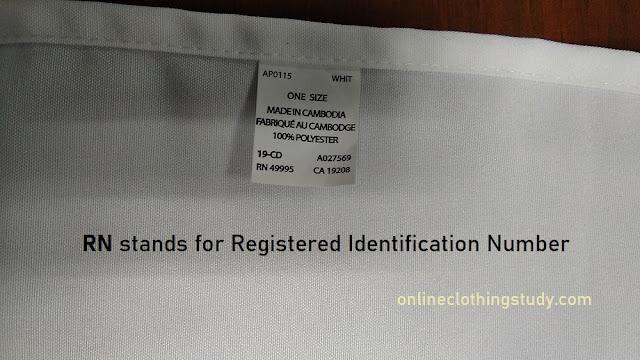 RN number definition