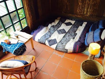 sleeping at homestay in Sapa