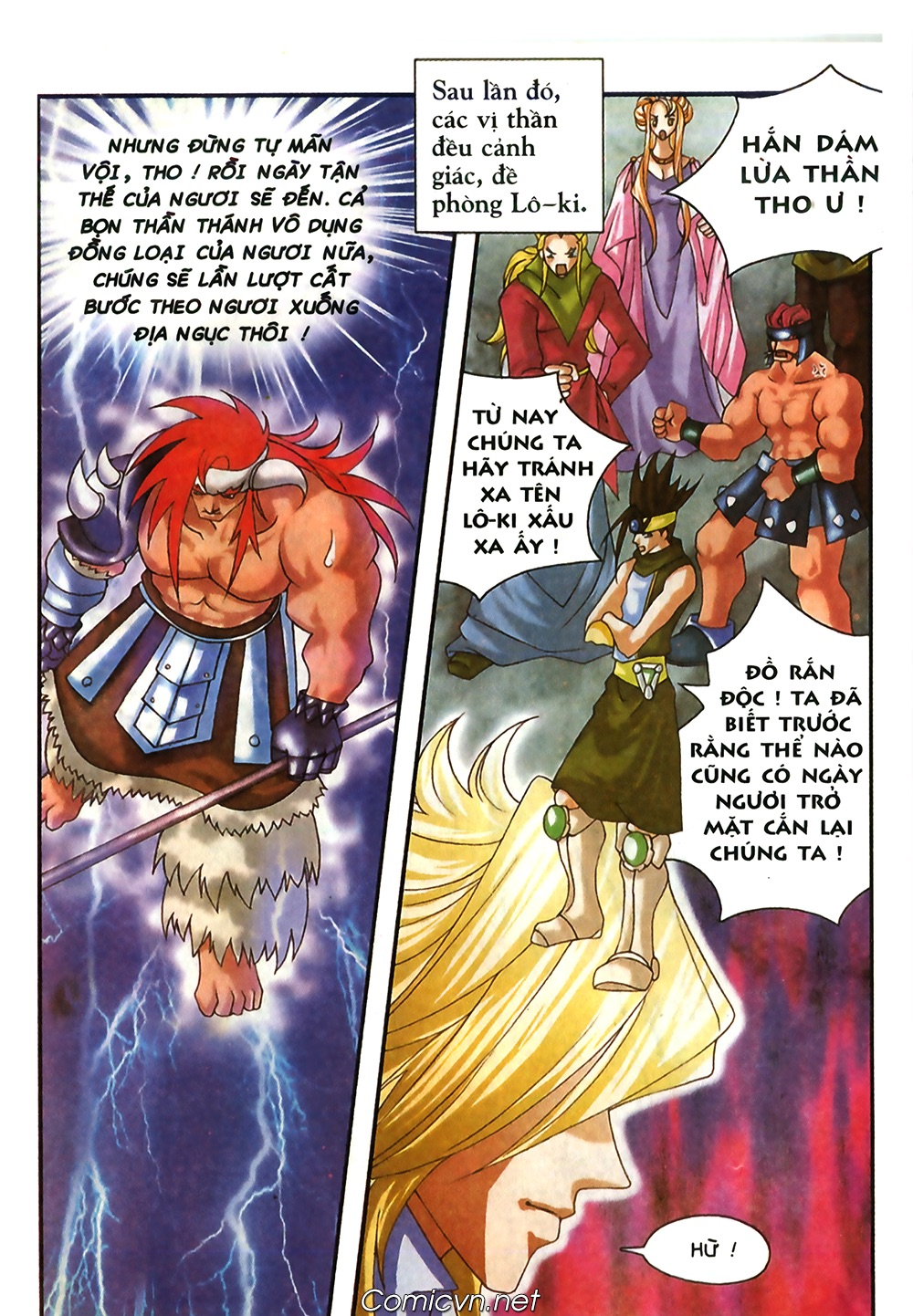 Thần thoại Bắc Âu - Chapter 42: Cơn ác mộng - Pic 17