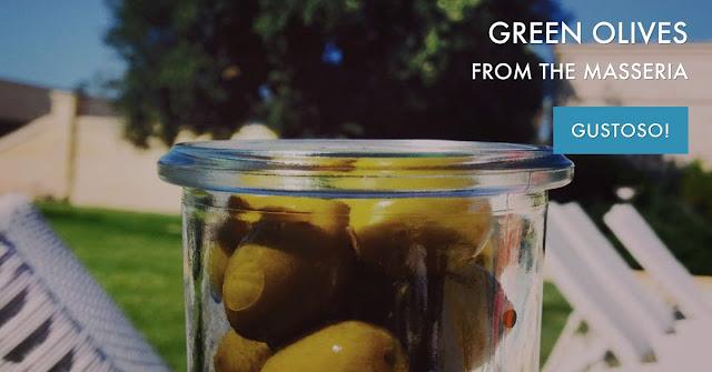 Green Olives - Puglia