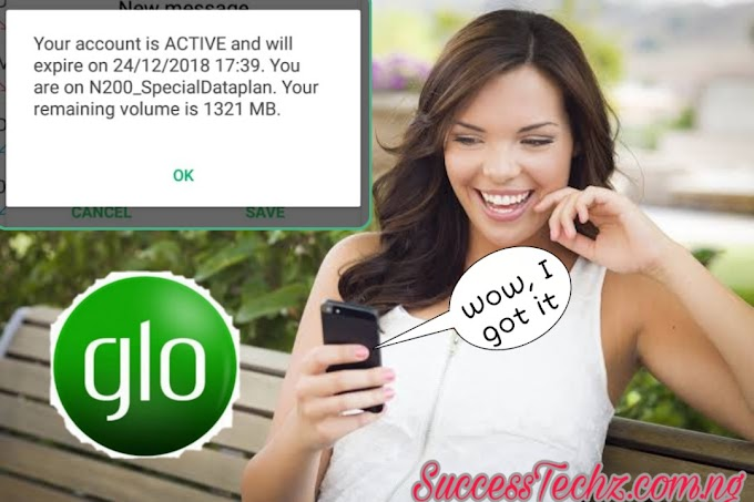 How to Activate Glo 1.2GB Special Data for Just N200 Valid For 3days