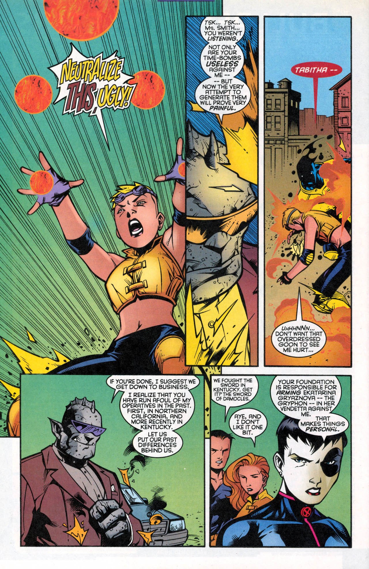 Read online X-Force (1991) comic -  Issue #86 - 30
