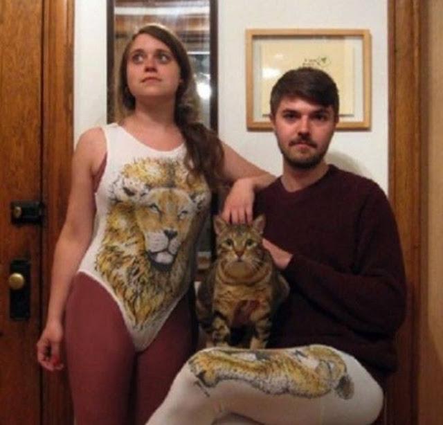 foto pasangan terunik terlucu teraneh dan ternorak di dunia-10