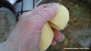 Супчик с брюссельской капустой