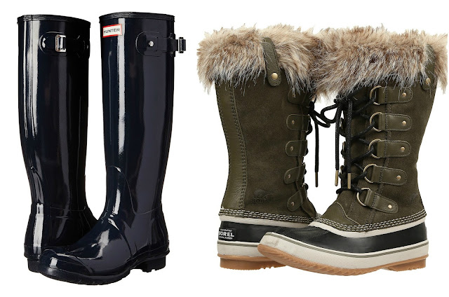6PM: HOT DEALS on Hunter and SOREL Boots!
