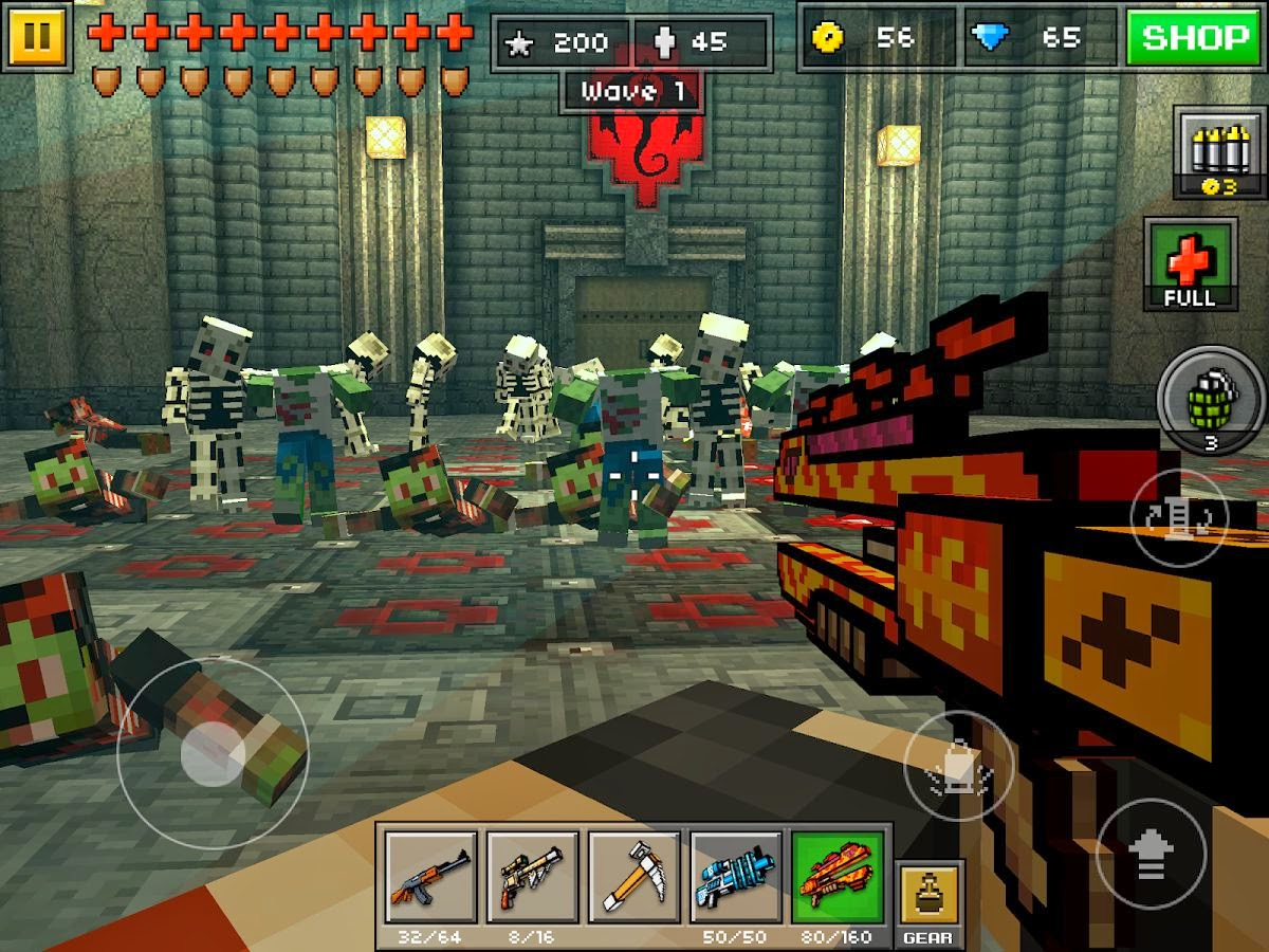 Pixel gun 3d download apk