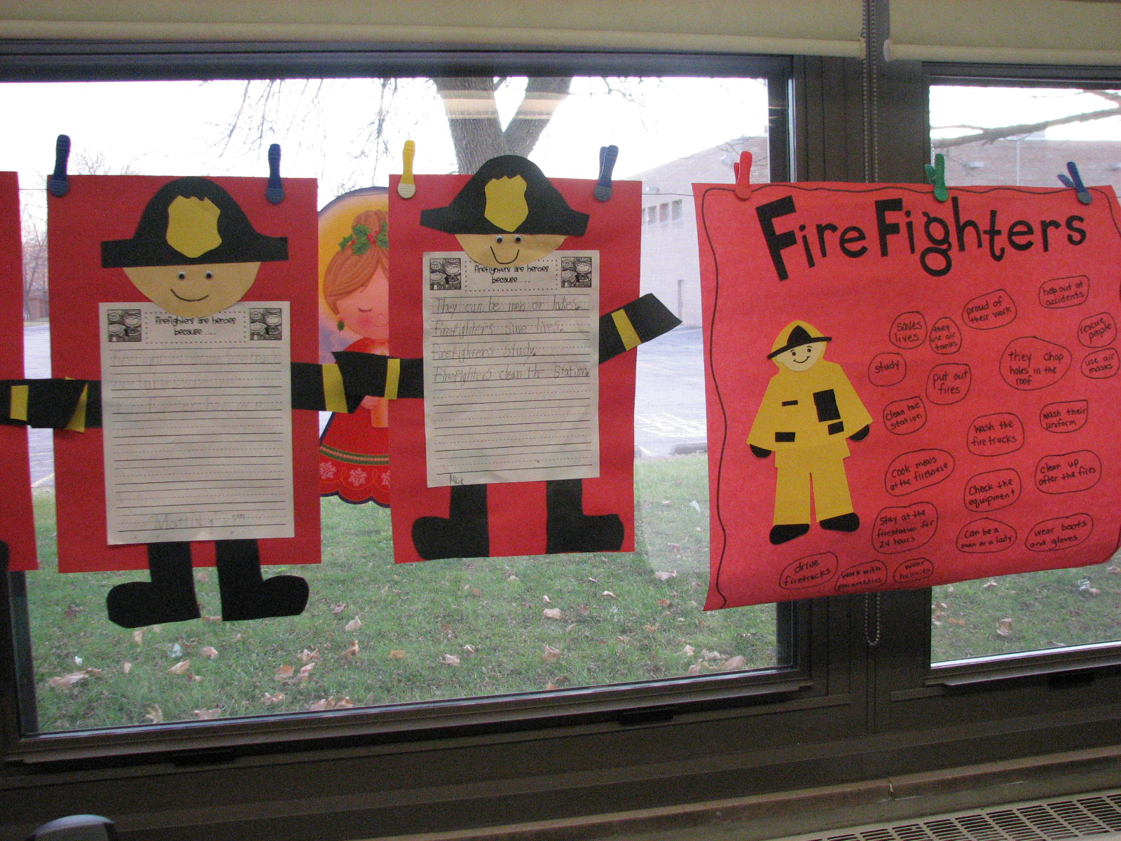 Dew Drop Into First Grade Firefighters