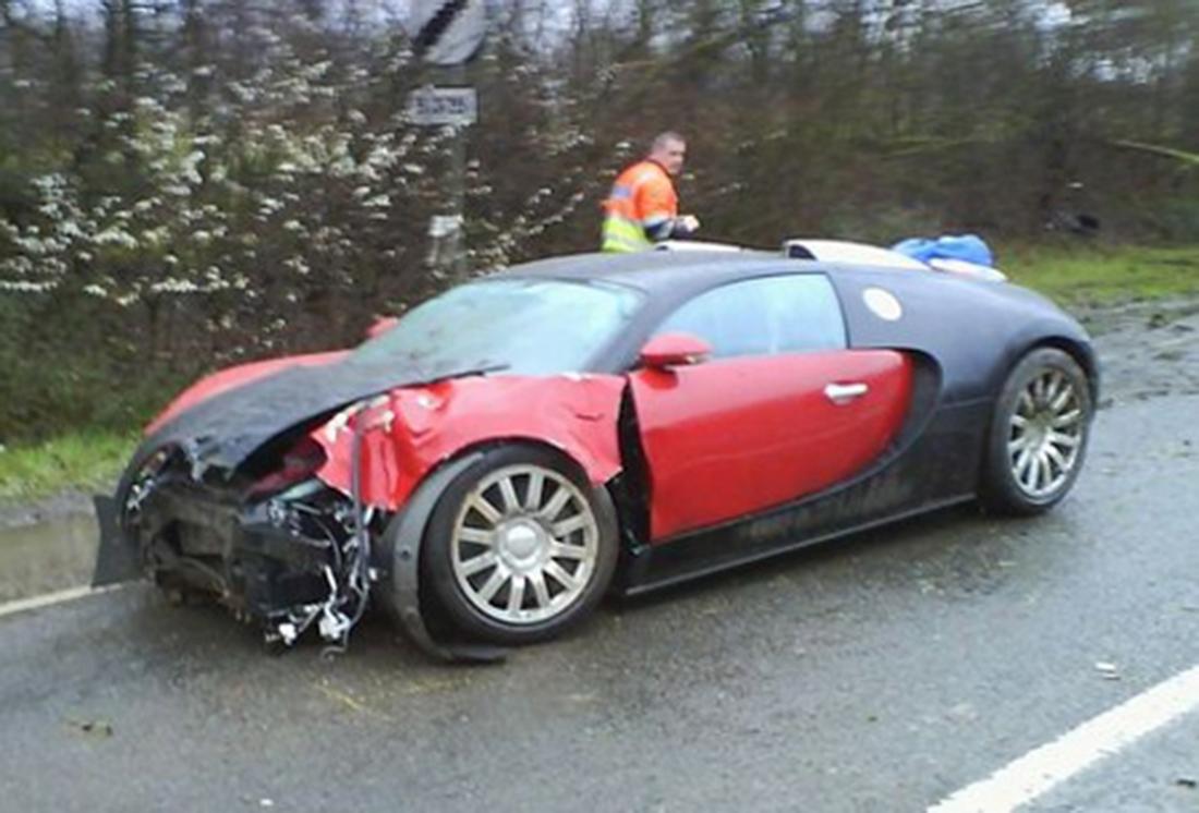 I Crashed My Car Into A Bridge Original