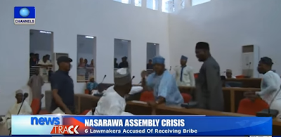 Nassarawa state lawmakers fight dirty in their chambers over appointment of sole administrators