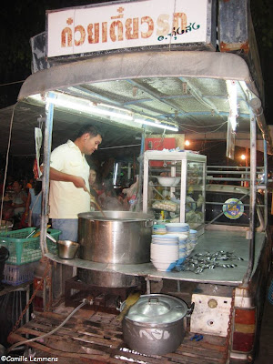 Kuaitiao soup car on Koh Phangan