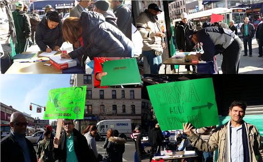 Cientos firman el Libro Verde contra la impunidad y la corrupción