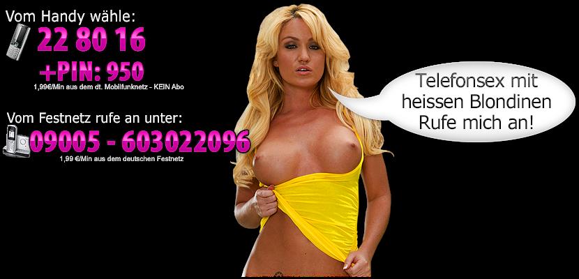 Telefonsex Blondinen