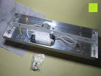 oben: JEKING 3-er Würfel Acryl Warmweiße LED Deckenlampe (2700-3200k) für Schlafzimmer&Esszimmer Aluminium Leuchtmittel 15W / CE Zertifizierung / 37.1 x 11.4 x 15.5 cm / 230V AC / IP 20 [Energieklasse A++] [Energieklasse A++]