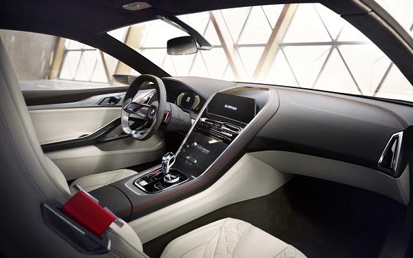 Interior BMW Serie 8 Concept